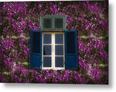 Spring Window Metal Print by Radoslav Nedelchev