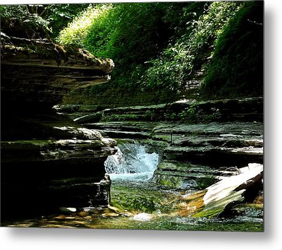 Springs Of Living Water Metal Print by Christian Mattison
