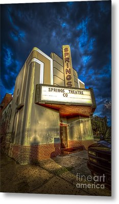Springs Theater Co Metal Print by Marvin Spates