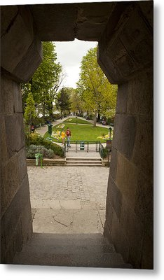 Square Du Vert-galant 1 Metal Print by Art Ferrier
