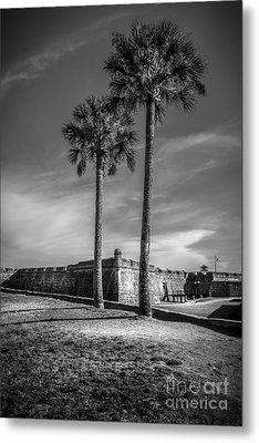 St. Augustine Fort Metal Print by Marvin Spates