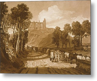 St Catherines Hill Near Guildford Metal Print by Joseph Mallord William Turner