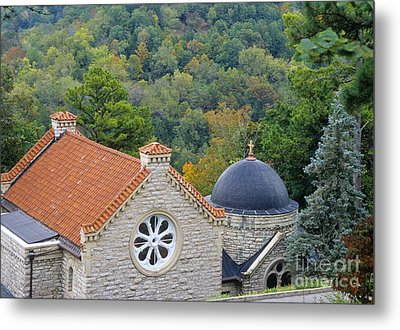 St. Elizabeth Of Hungary Church Metal Print by Richard and Ellen Thane
