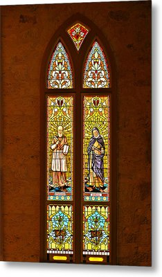 St Francis Of Sales And St Monica Metal Print by Christine Till