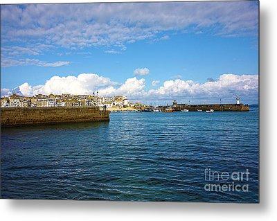 St Ives Cornwall Metal Print by Terri Waters