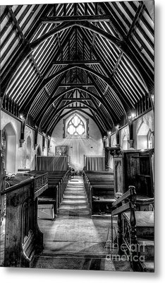 St John Ysbyty Ifan Metal Print by Adrian Evans