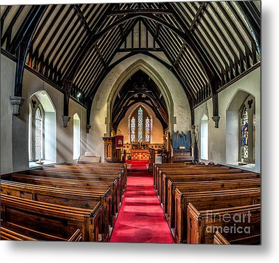 St Johns Church Metal Print by Adrian Evans