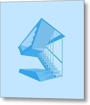 St John's Stairs Metal Print by Peter Cassidy