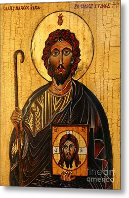 St. Jude The Apostle Metal Print by Ryszard Sleczka