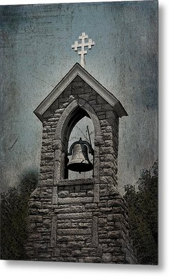 St Mary Magdalene-aqua-aged Metal Print by Lesa Fine