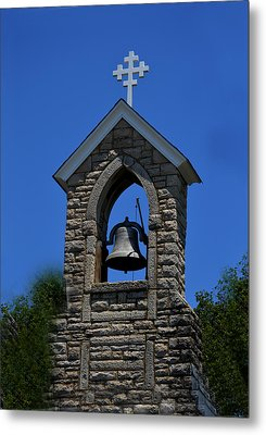 St Mary Magdalene Church Fayetteville Tennessee Metal Print by Lesa Fine