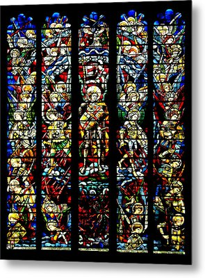 St. Michael And The Heavenly Host - 2 Metal Print by Stephen Stookey
