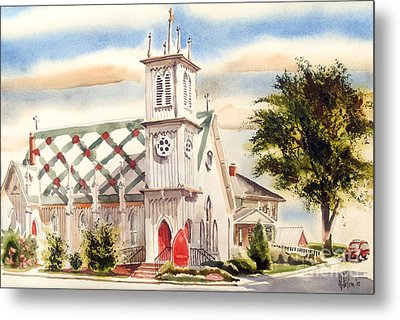 St. Pauls Episcopal Church II Metal Print by Kip DeVore
