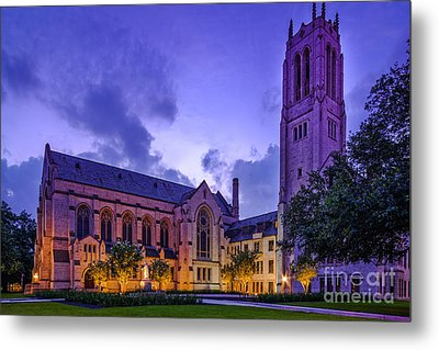 St. Paul's United Methodist Church - Houston Texas II Metal Print by Silvio Ligutti