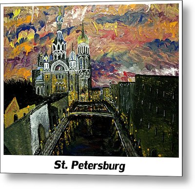 St  Petersburg Metal Print by Mark Moore