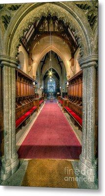 St Twrog Church Metal Print by Adrian Evans