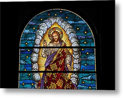 Stained Glass Pc 03 Metal Print by Thomas Woolworth
