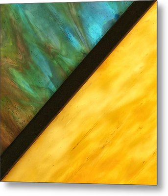 Stained Glass Metal Print by Tom Druin