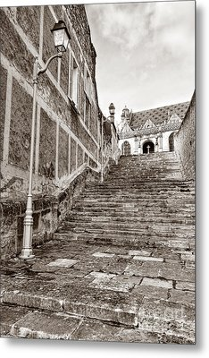 Stairway To Salvation  Metal Print by Olivier Le Queinec