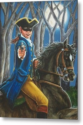 Stand And Deliver Metal Print by Beth Clark-McDonal