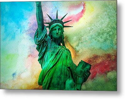 Stand Up For Your Dreams Metal Print by Az Jackson