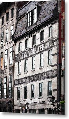 Standard Paper Metal Print by John Rizzuto