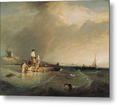 Stanfield, Clarkson 1793-1867. On Metal Print by Everett