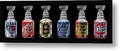 Stanley Cup Original Six Metal Print by Andrew Fare