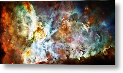 Star Birth In The Carina Nebula  Metal Print by Jennifer Rondinelli Reilly - Fine Art Photography