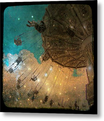 Star Bright Metal Print by Gothicolors Donna