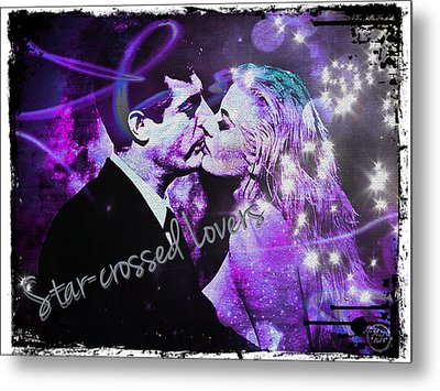 Star-crossed Lovers Metal Print by Absinthe Art By Michelle LeAnn Scott