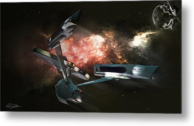 Star Date 6625.331 Metal Print by Peter Chilelli