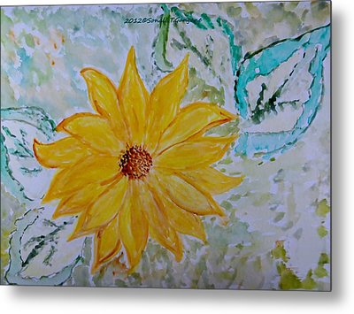 Star Flower Metal Print by Sonali Gangane