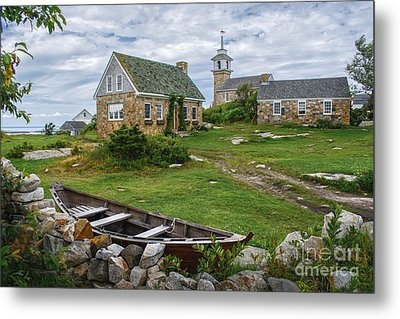 Star Island Dory Metal Print by Scott Thorp