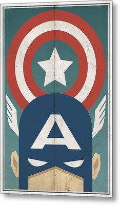Star-spangled Avenger Metal Print by Michael Myers