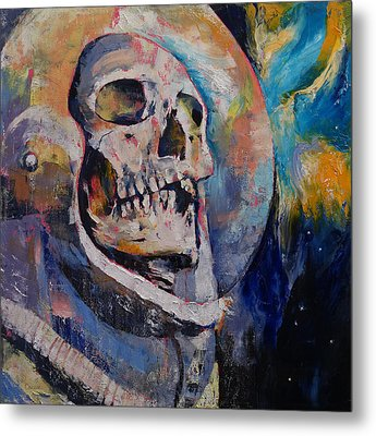 Stardust Astronaut Metal Print by Michael Creese