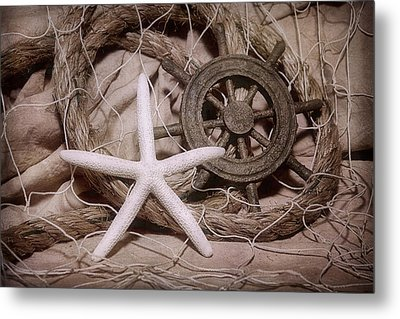 Starfish Still Life Metal Print by Tom Mc Nemar