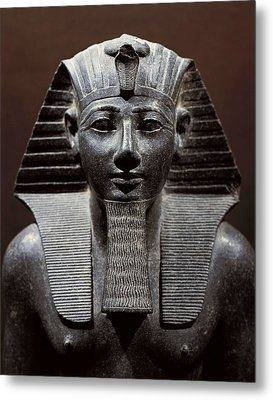 Statue Of Tuthmosis IIi. 1490 -1439 Bc Metal Print by Everett