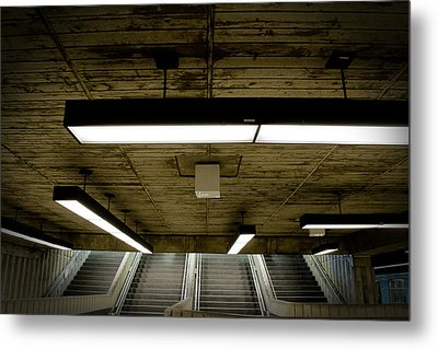 Ste-helene Space Port Metal Print by Eric Soucy