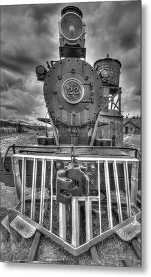 Steam Locomotive Train Metal Print by Al Reiner