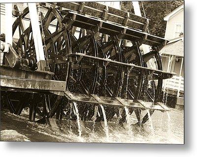 Steamboat Metal Print by Nicholas Evans