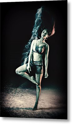 Steaming Hot Metal Print by Mountain Dreams