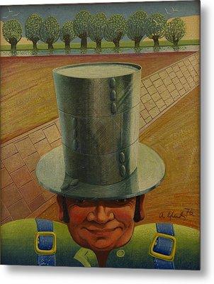 Steely Dan The Straightway Man Metal Print by Arthur Glendinning