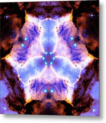 Stellar Spiral Eagle Nebula Vi Metal Print by Derek Gedney