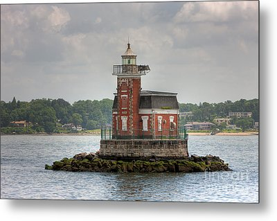 Stepping Stones Lighthouse I Metal Print by Clarence Holmes