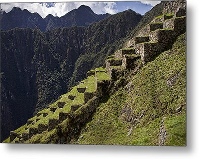Steps To The Past  Metal Print by Kim Andelkovic