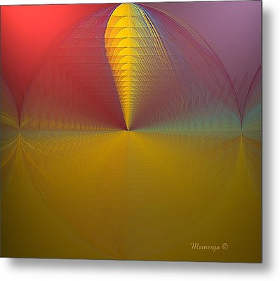 Stern Metal Print by Ines Garay-Colomba