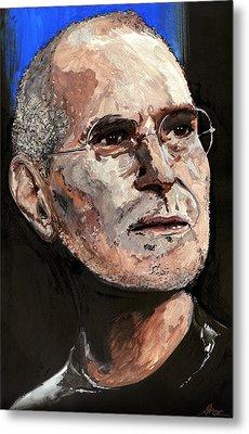 Steven Paul Jobs Metal Print by Gordon Dean II