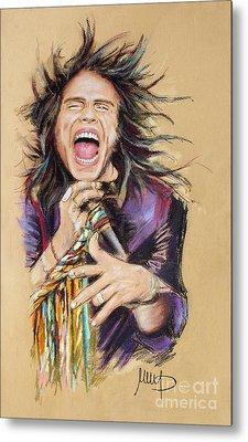 Steven Tyler Metal Print by Melanie D