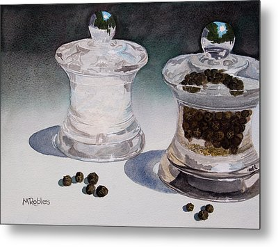 Still Life No. 4 Metal Print by Mike Robles